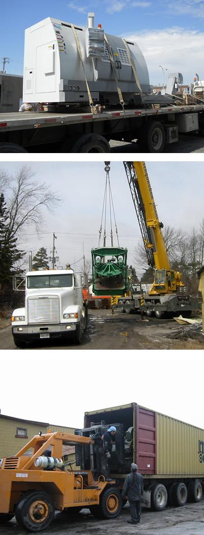 machinery transport GTA